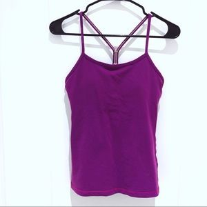 Lululemon Purple Racerback Tank Top Size 6